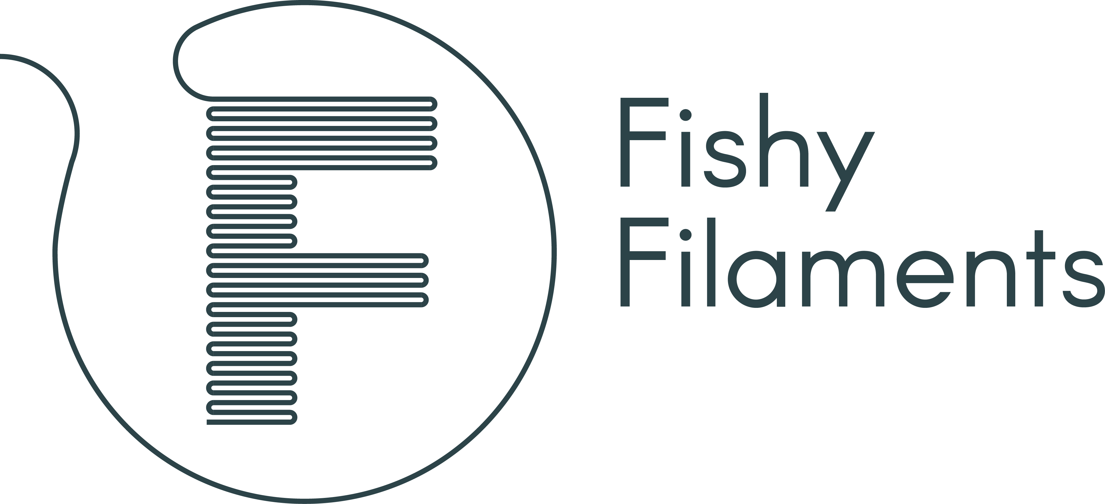 Fishy Filaments Logo