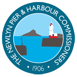 Newlyn Pier & Harbour logo - Fishy filaments