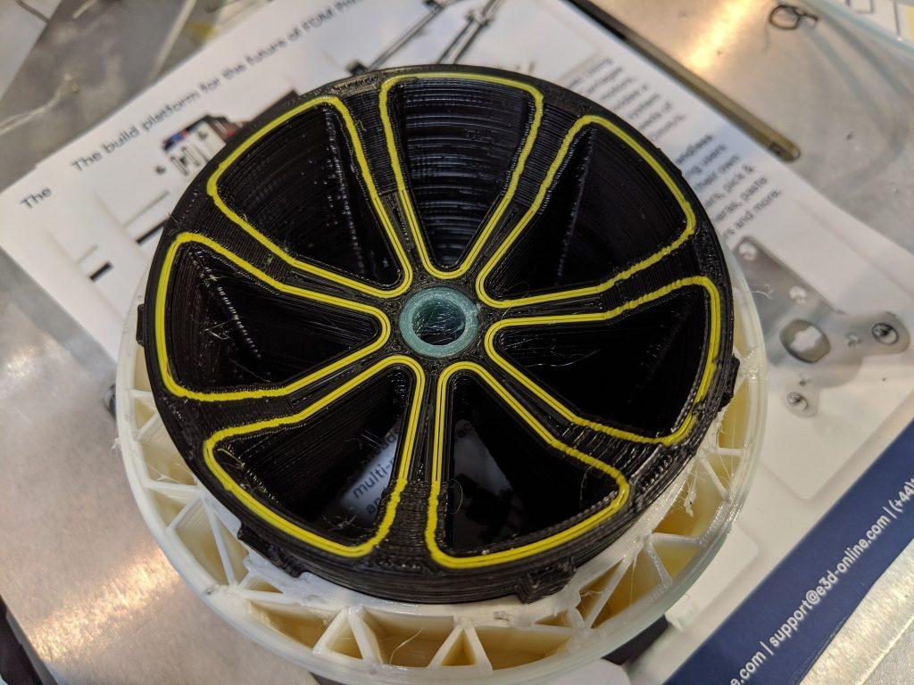 4 material wheel