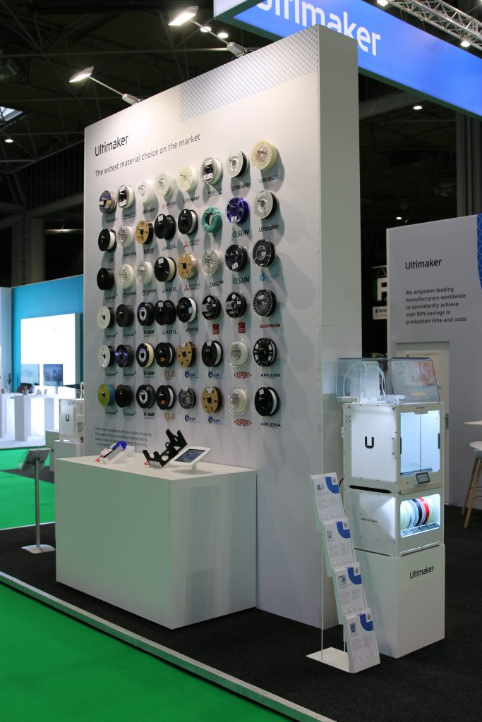 Ultimaker trade stand TCT Show 2019